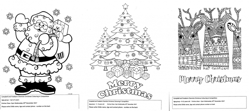 Christmas Colouring In Competition